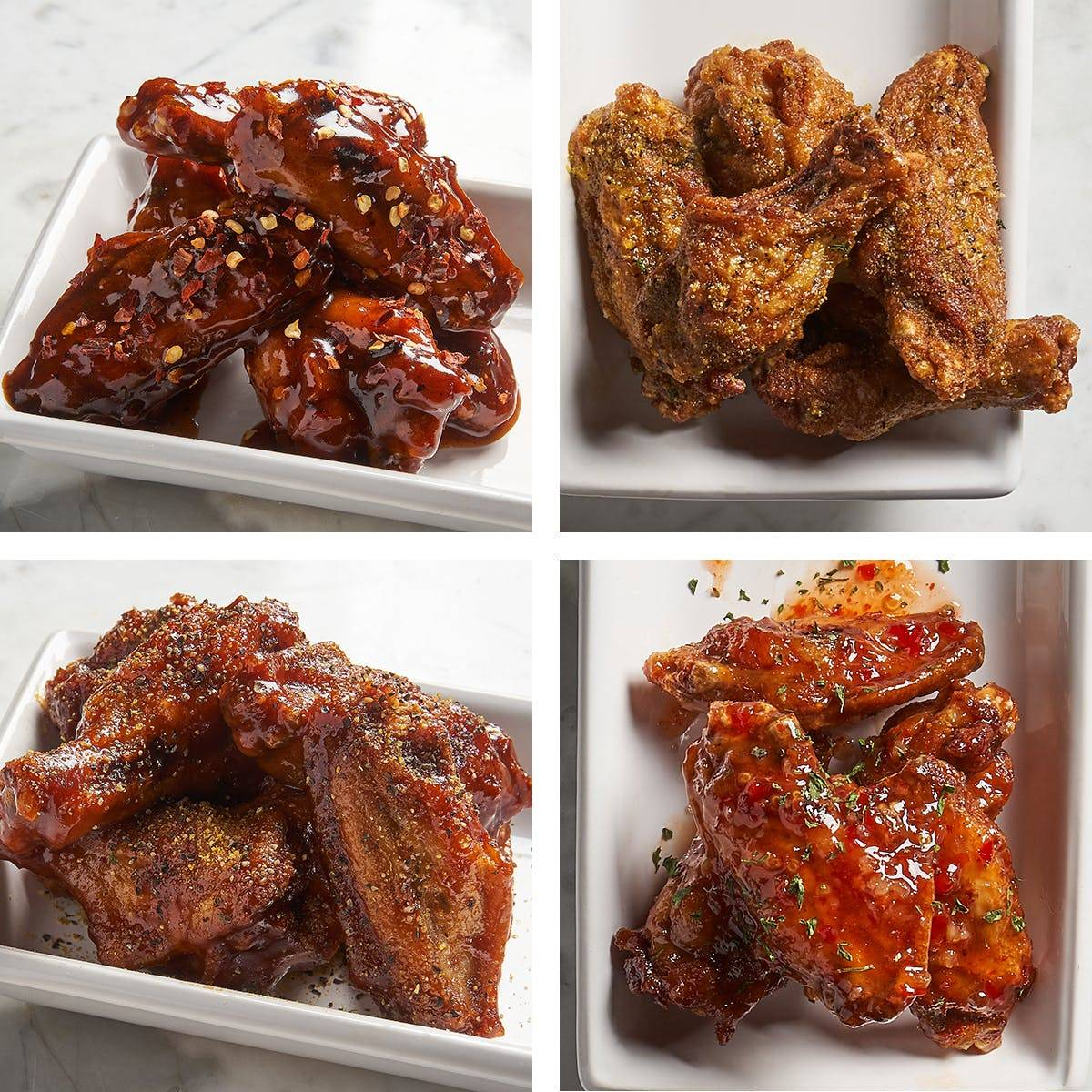 Magic City Kitchen - Chicken Wing Sampler - 125 Pack