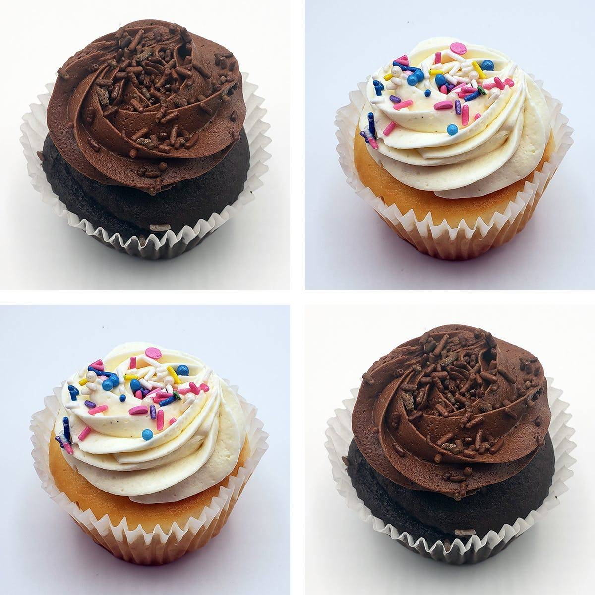 The Goddess and Grocer - Cupcakes Best Seller - 8 Pack