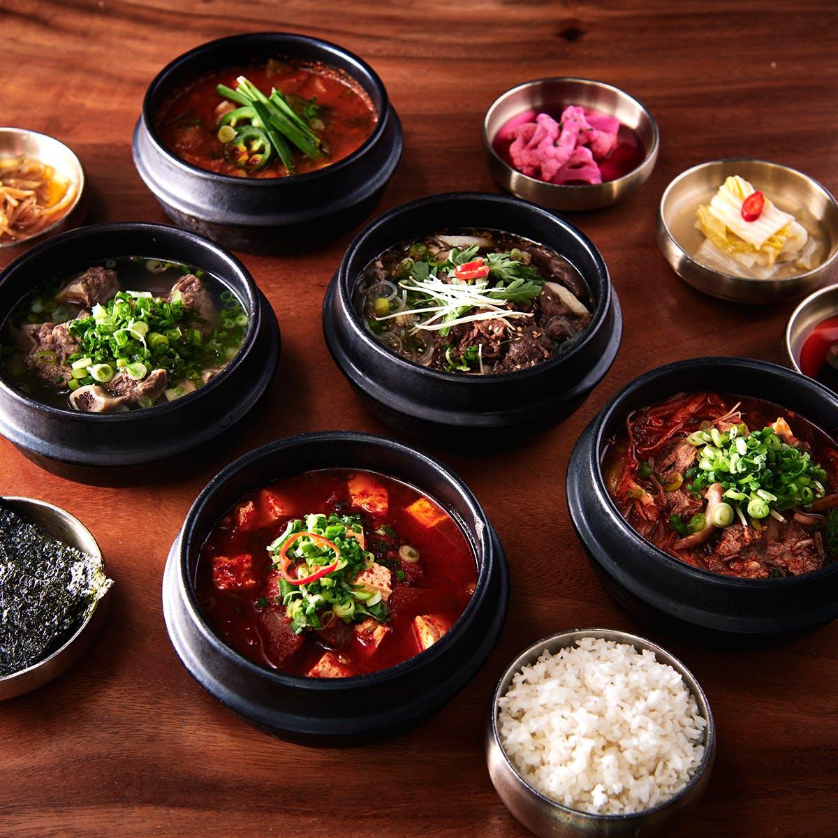 Samwon Garden Korean BBQ - Korean Soup Sampler - 6 Pack