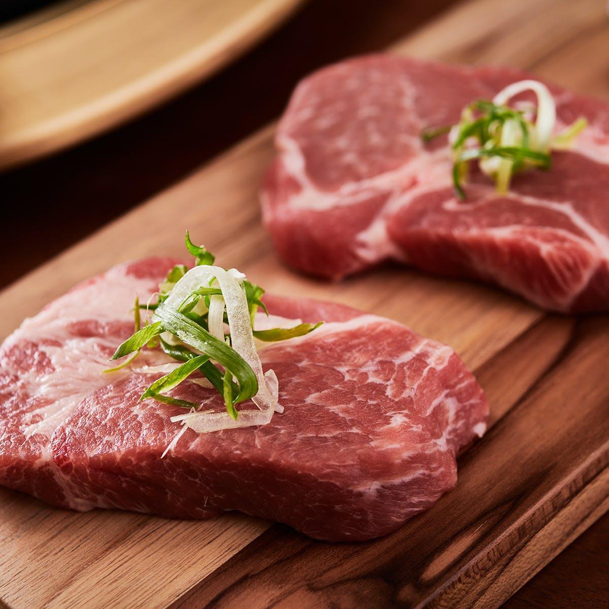 Samwon Garden Korean BBQ - Korean BBQ Galbi Pork Kit for 6-8