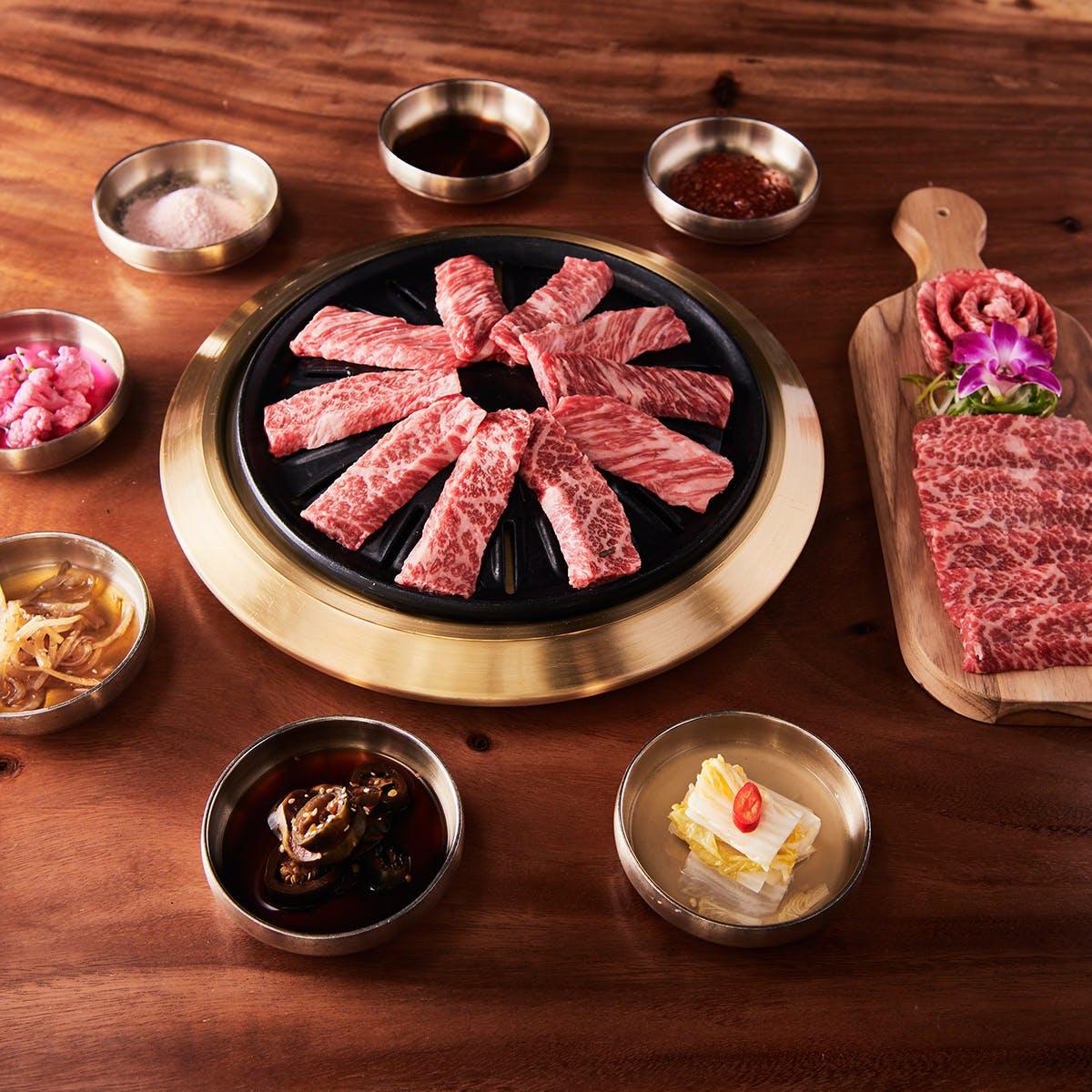 Samwon Garden Korean BBQ - Korean BBQ Short Rib Kit for 6-8