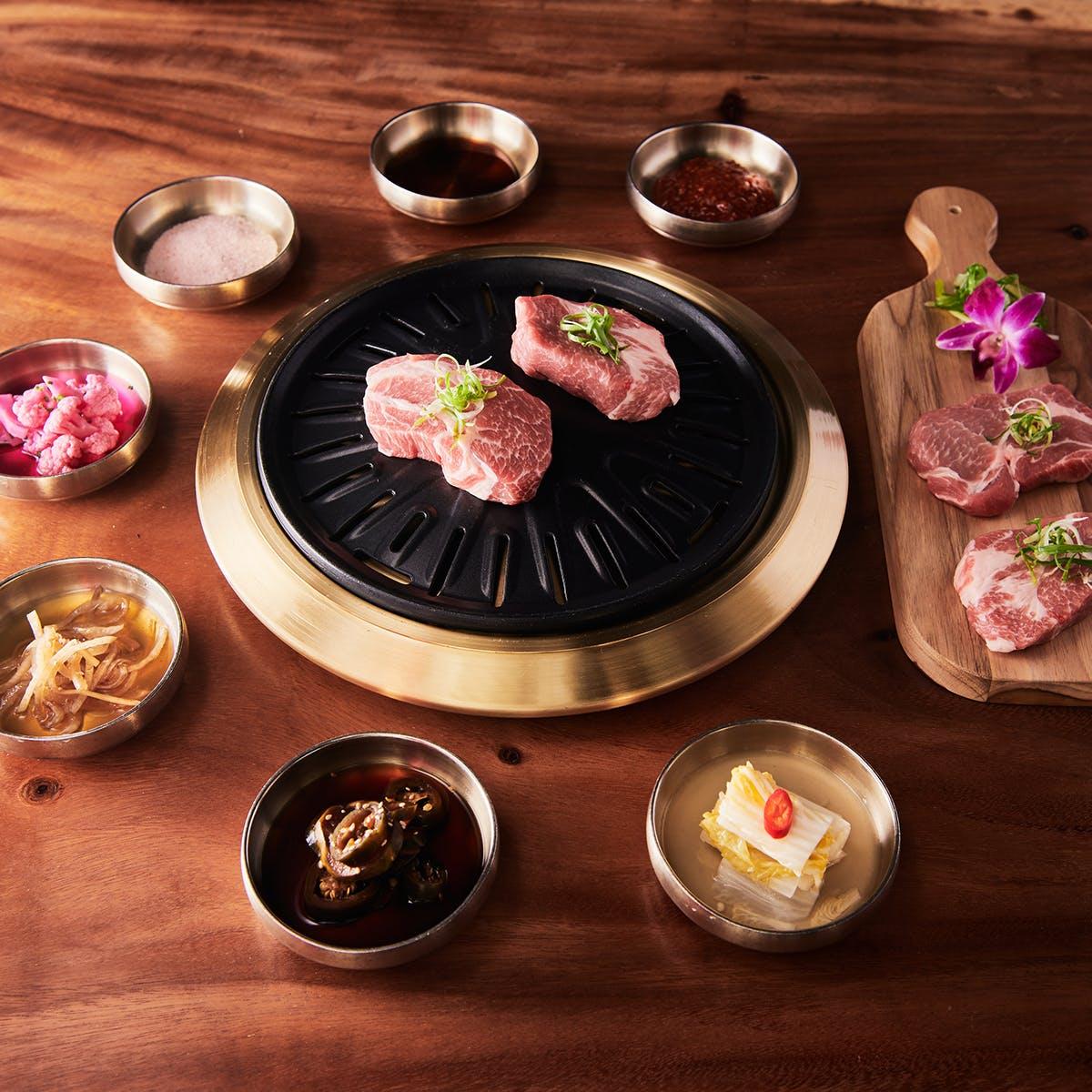 Samwon Garden Korean BBQ - Korean BBQ Galbi Pork Kit for 4-6