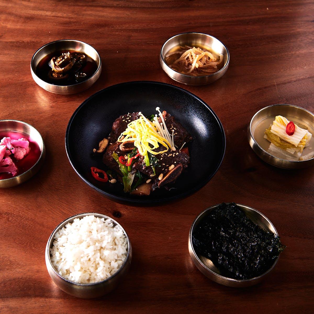 Samwon Garden Korean BBQ - Korean BBQ Galbi Jjim Kit for 6