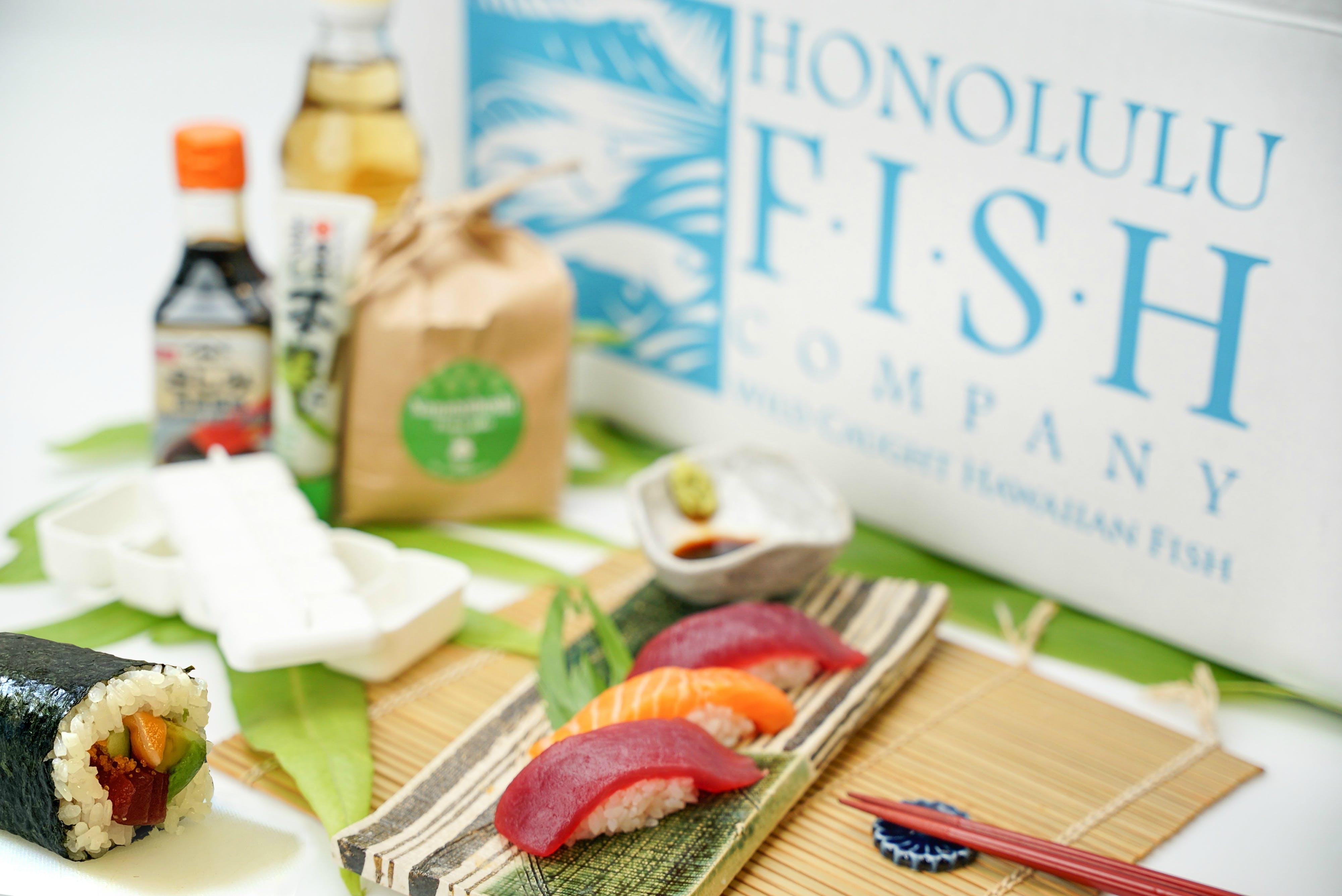Honolulu Fish Company - Honolulu Fish Co. Nigiri & Maki Roll Home Sushi Kit