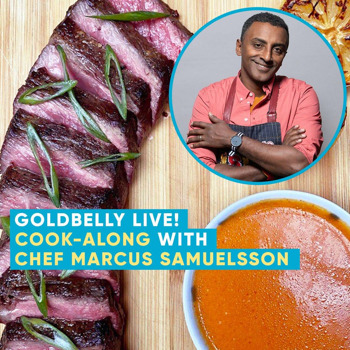 Marcus Samuelsson's Streetbird - Chef Marcus Samuelsson's THE RISE Meal Kit + Live Cooking Class