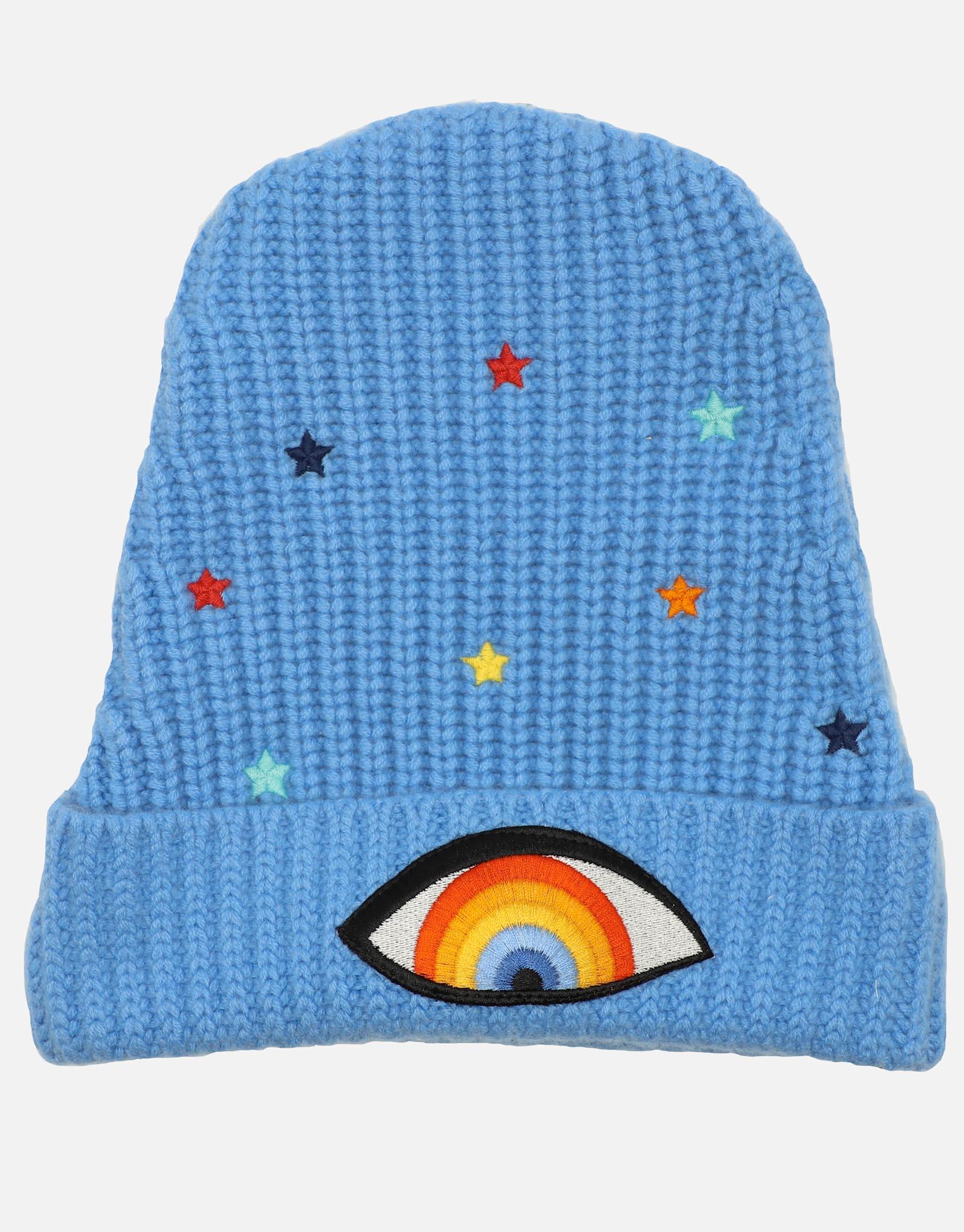 Lauren Moshi Blix Starry Rainbow Eye - ONE Blue