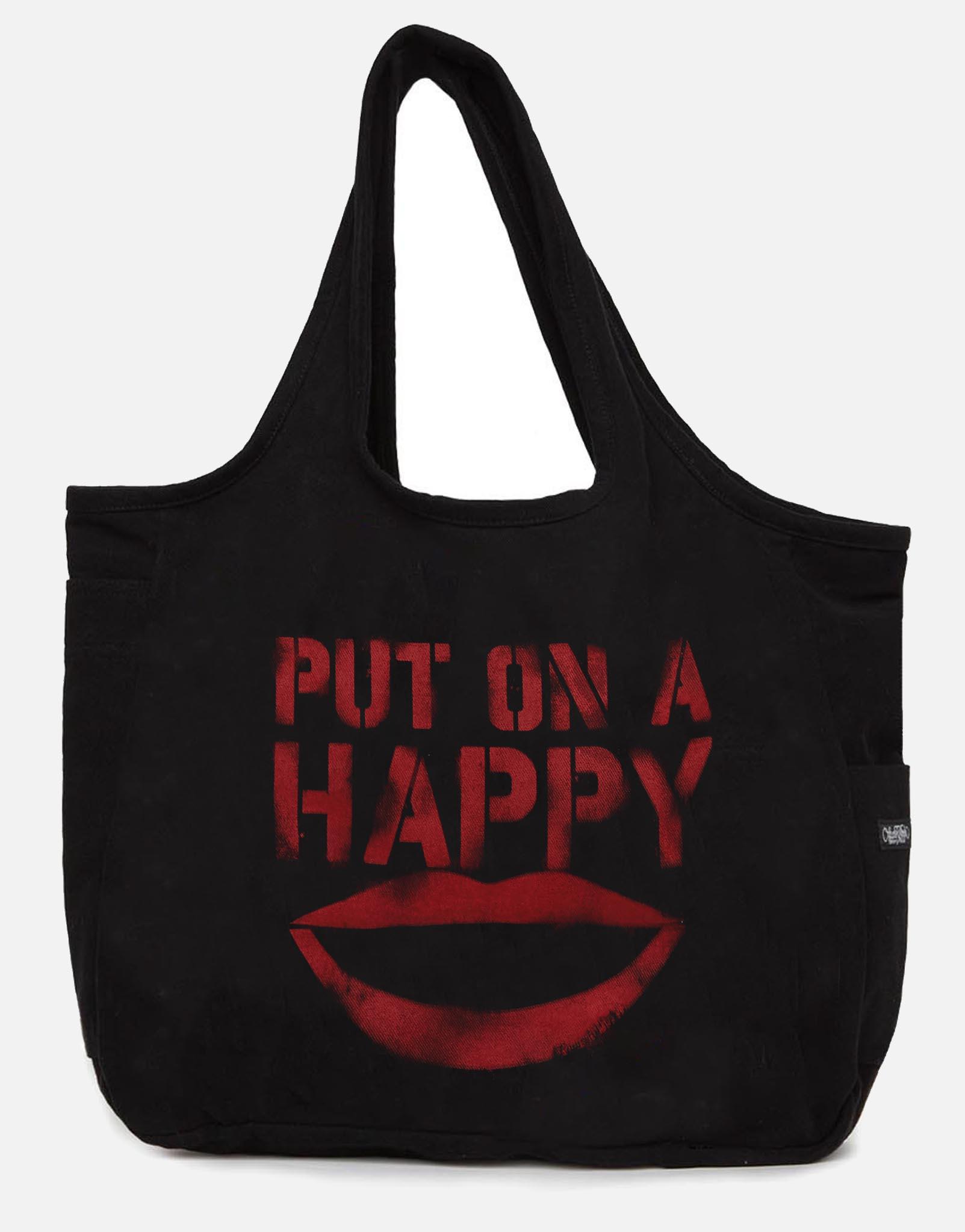 Lauren Moshi X Taylor Stencil Happy Smile - One Black