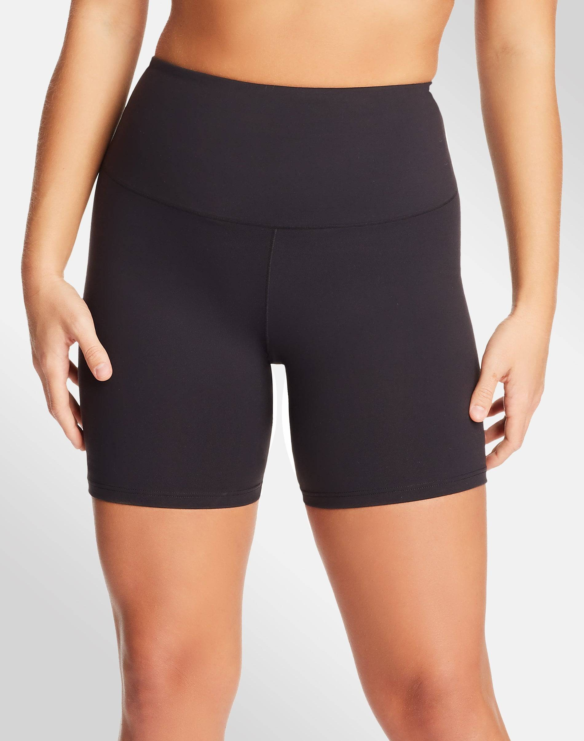 Maidenform Bike Short with Cool Comfort Black L Women's