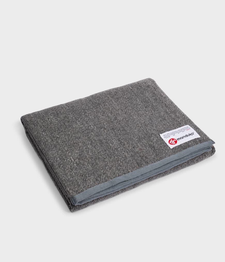 Manduka Recycled Wool Blanket Sediment / One Size