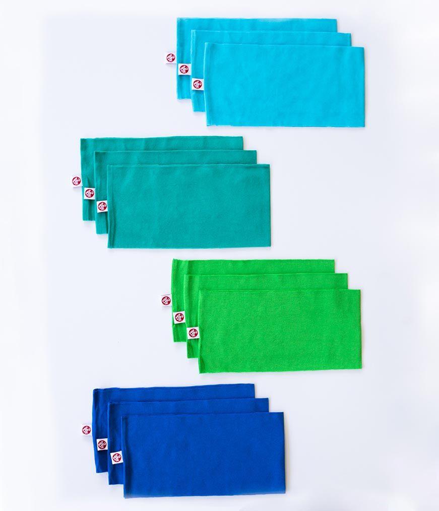 "Manduka yogitoes® Headbands 12 pack La Reina / 4"" (10cm)"