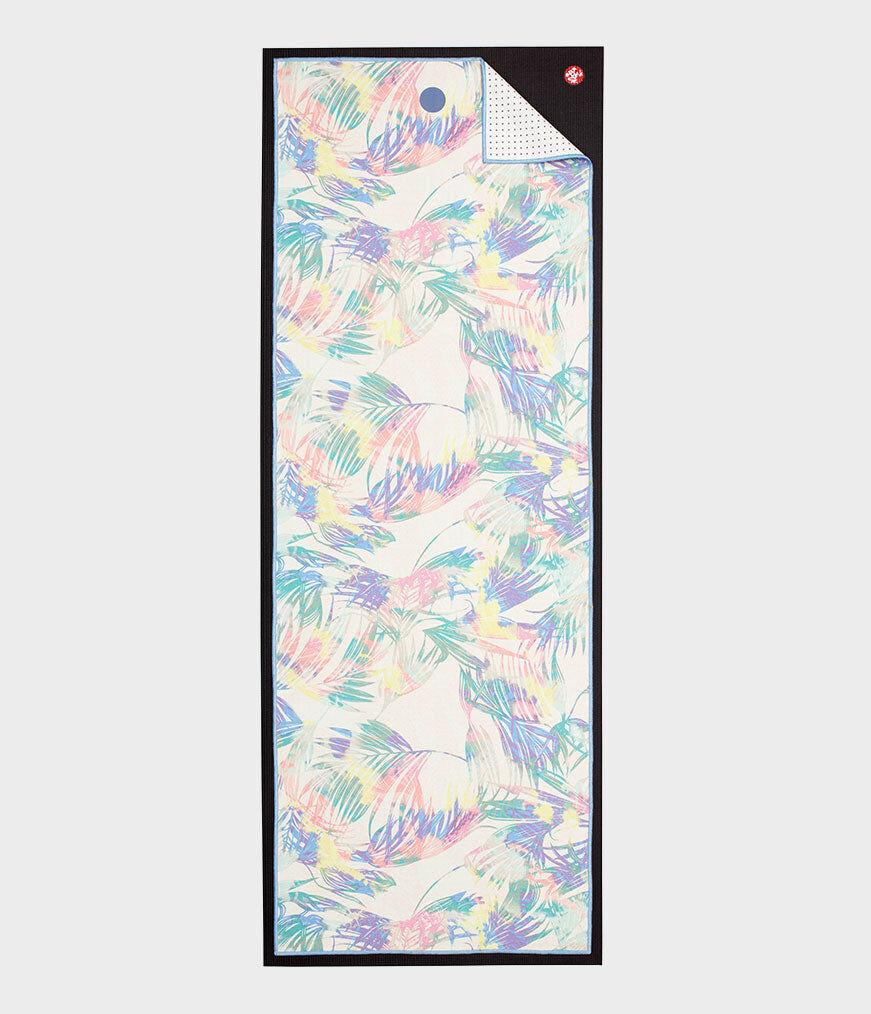 """Manduka yogitoes® yoga towel Tropics Multi / Standard 68"""" (172cm)"""