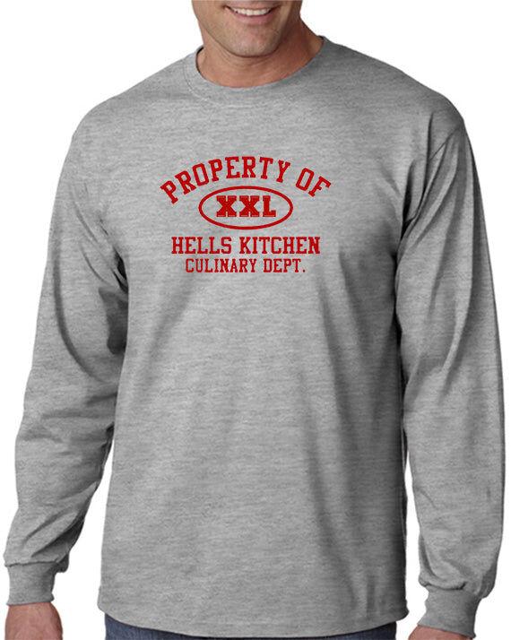 DesignerTeez Property of Hell's Kitchen T-shirt