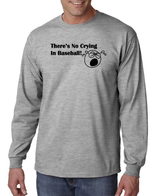 DesignerTeez There's No Crying in Baseball T-shirt