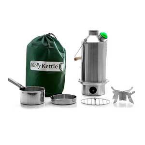 Sagan Life Stainless Steel-Large Kelly Kettle? ? Basic Kit