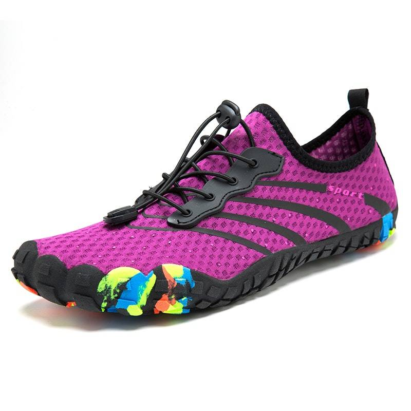 Women's Summer Breathable Outdoor Mesh Fitness Shoes02748purple11.5