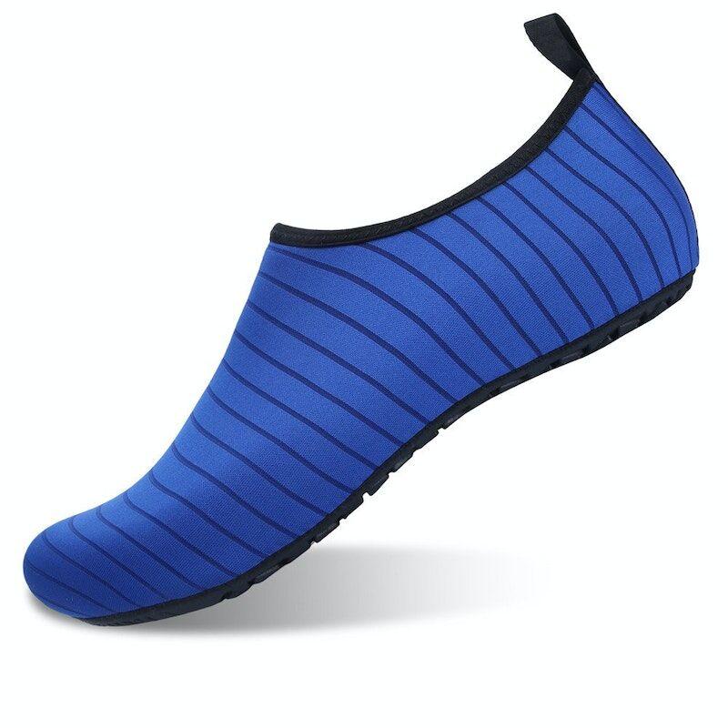 Men/Women Summer Soft Lightweight Polyester Beach Shoes03270blue12