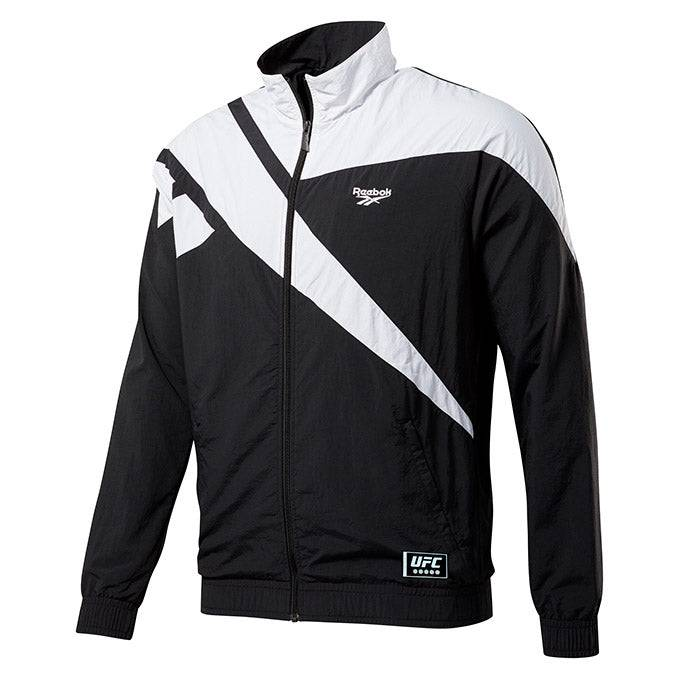 Reebok Men's Reebok Black Authentic UFC 244 Weigh-In Vector Track Jacket