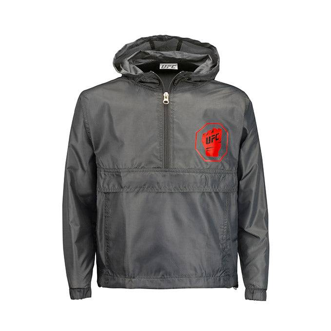 UFC Kids' Packable Jacket - Grey