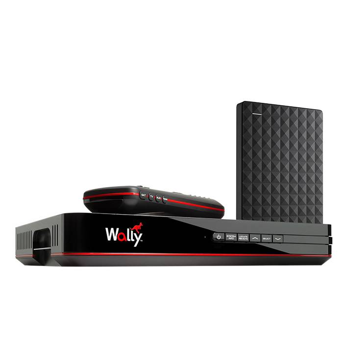 Pace International Wally DISH Receiver with DVR Upgrade Expansion Bundle