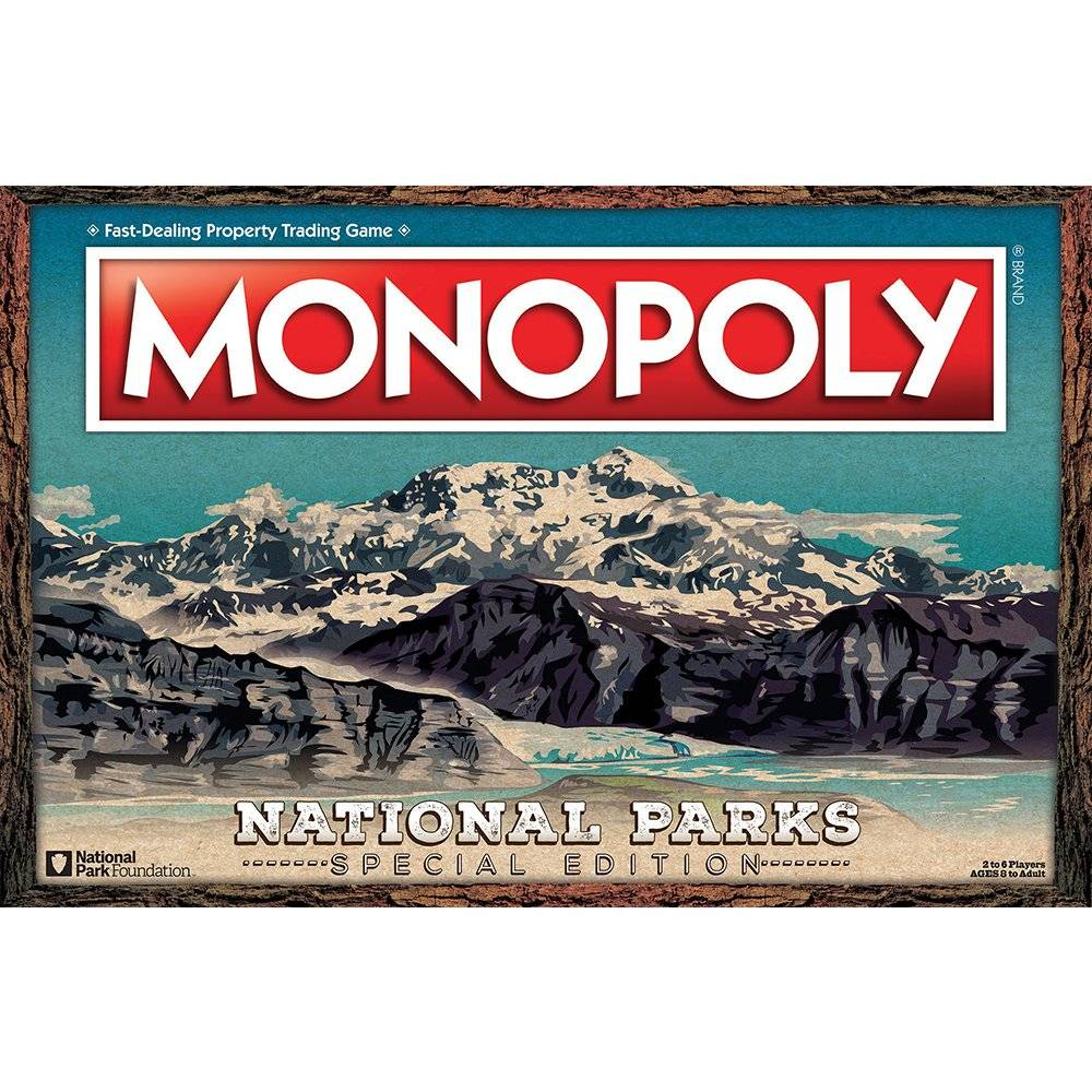 USAopoly National Parks Monopoly
