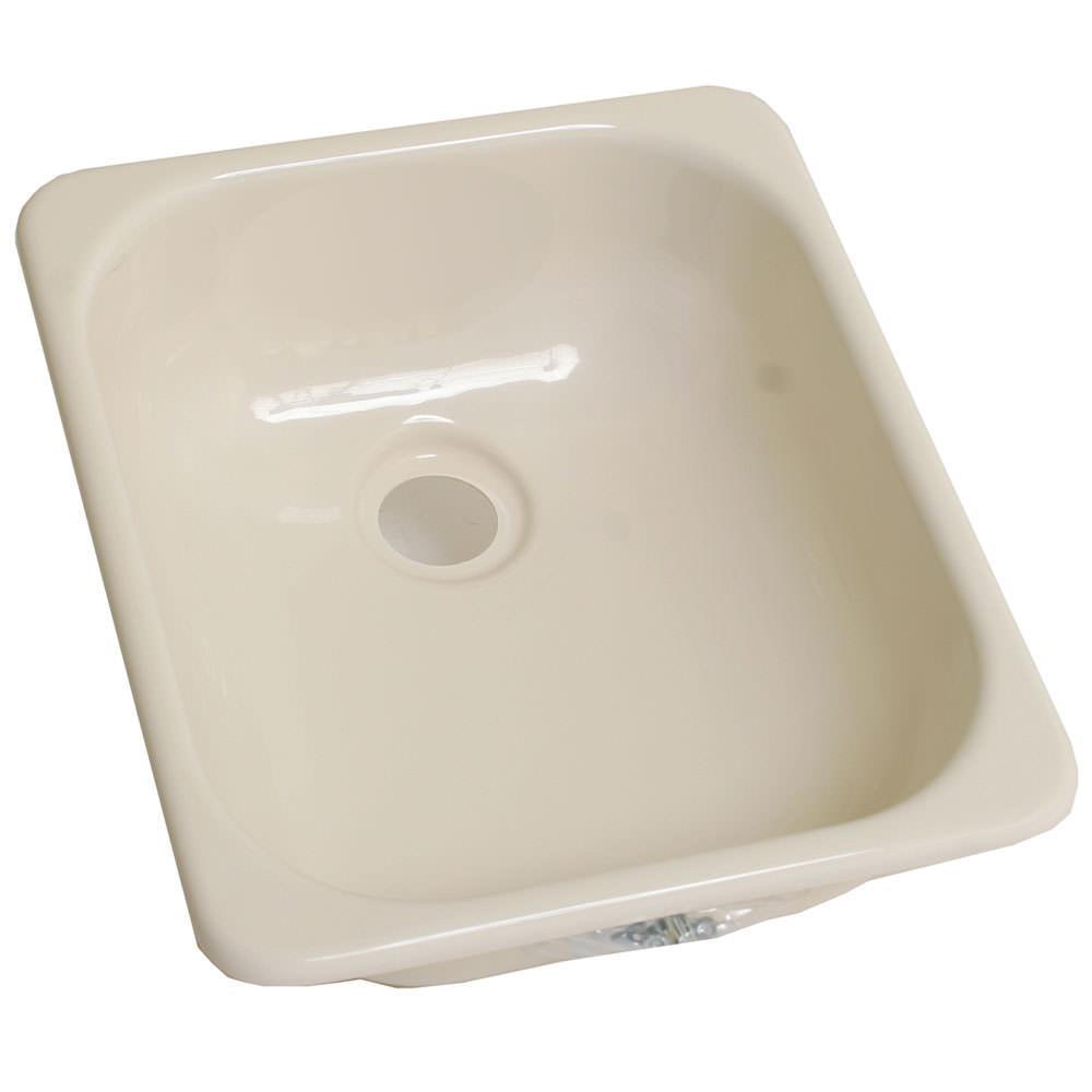 "Lippert 13"" x 15"" Kitchen Sink - Parchment"