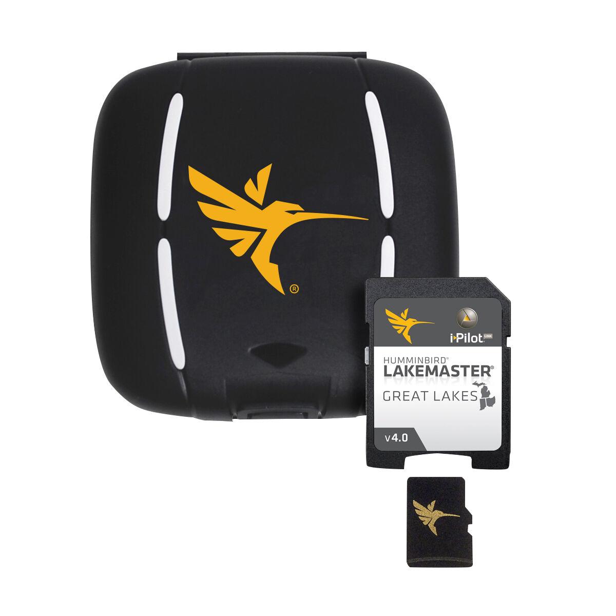Humminbird LakeMaster Great Lakes Micro Map Card With SD Adapter