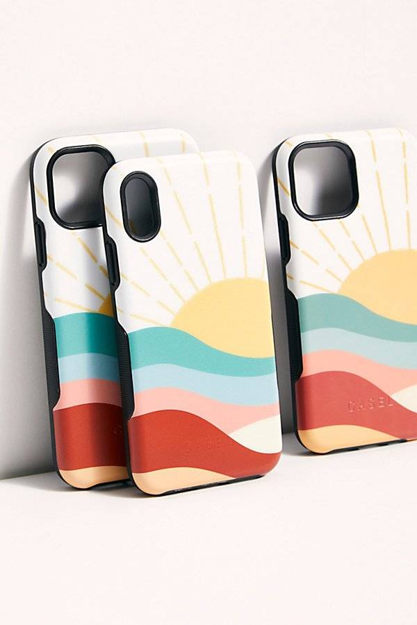 Casely Here Comes The Sun Phone Case by Casely at Free People, Sunrise, US 12