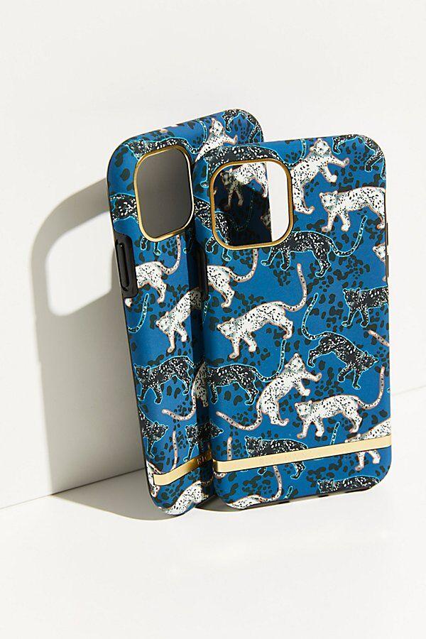 Richmond & Finch Blue Leopard Phone Case by Richmond & Finch at Free People, Blue Leopard, US 12