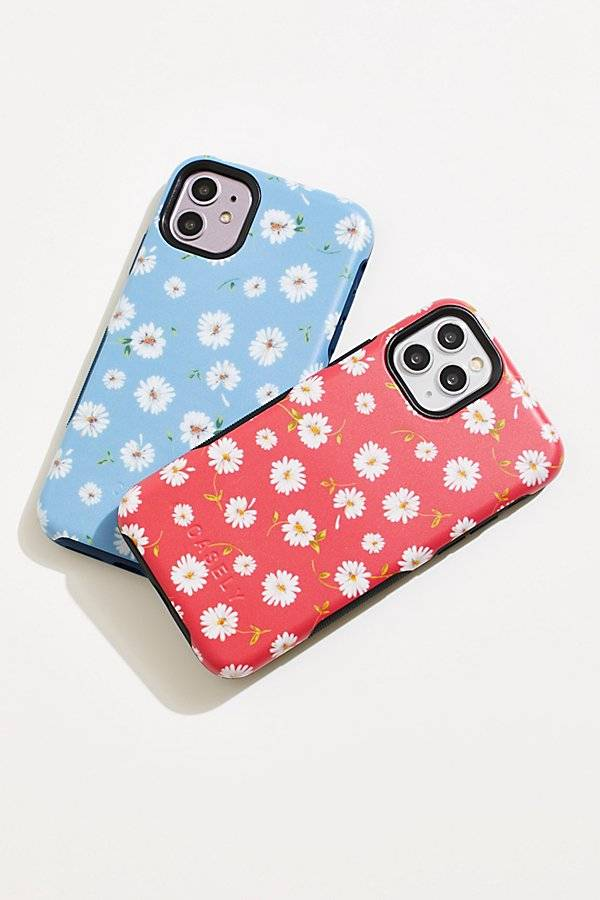 Casely Daisy Daydream Phone Case by Casely at Free People, Sky Blue, US 12