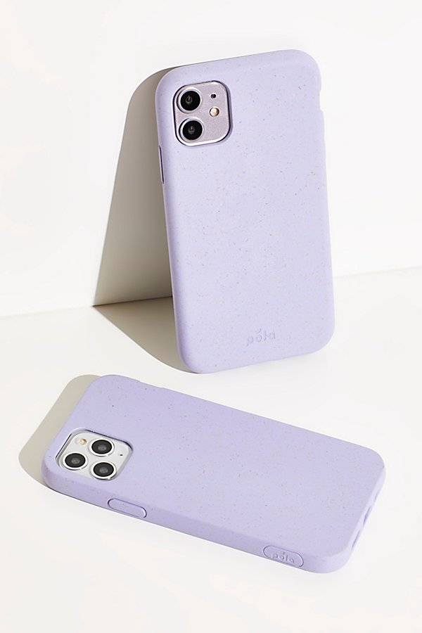 Pela Classic Eco-Friendly Phone Case by Pela at Free People, Lavender, US 11.5