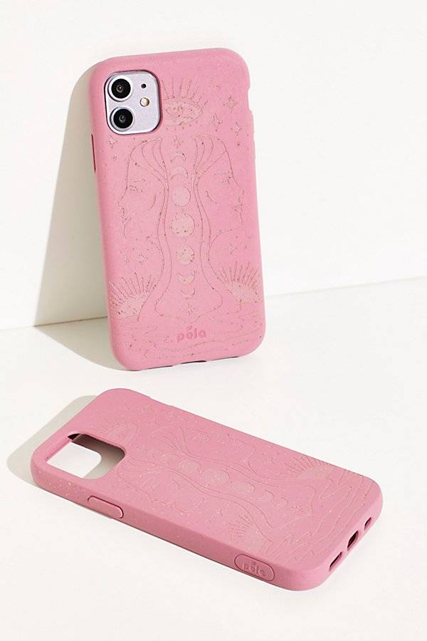 Pela Engraved Eco-Friendly Phone Case by Pela at Free People, Reflect, US 11.5