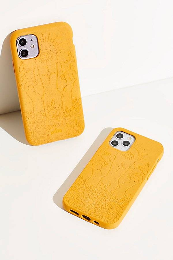 Pela Engraved Eco-Friendly Phone Case by Pela at Free People, Rise, US 11.5