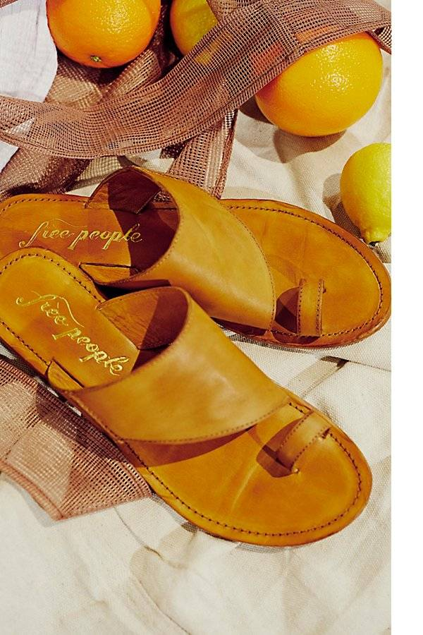 FP Collection Sant Antoni Slide by FP Collection at Free People, Saffron, EU 39