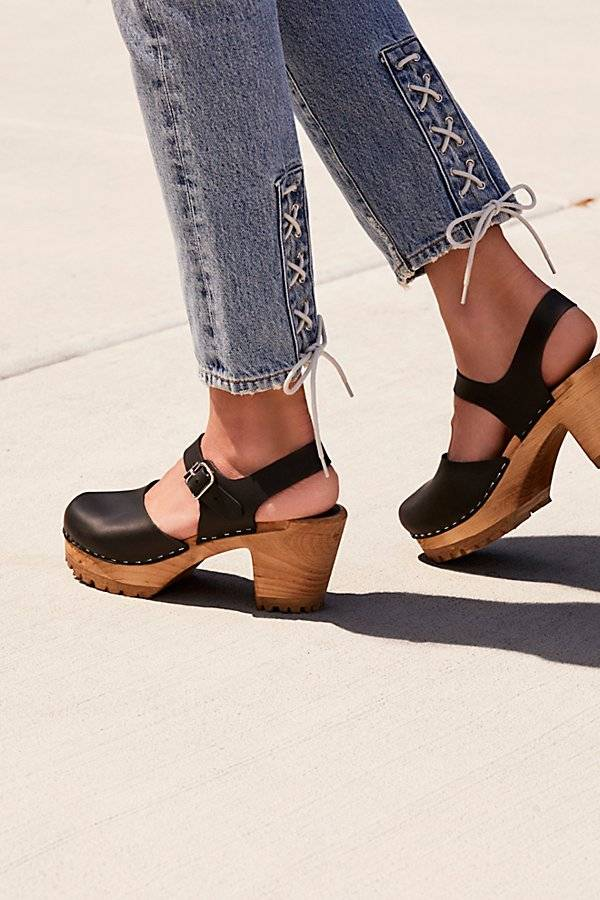 MIA Shoes Abby Clog by MIA Shoes at Free People, Black, EU 38