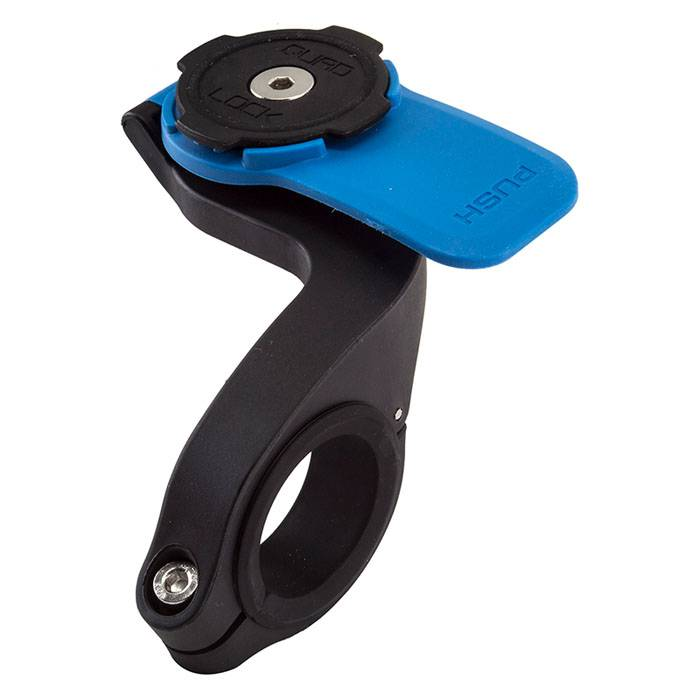 Quad Lock Out Front Phone Mount  - Black - Size: One Size
