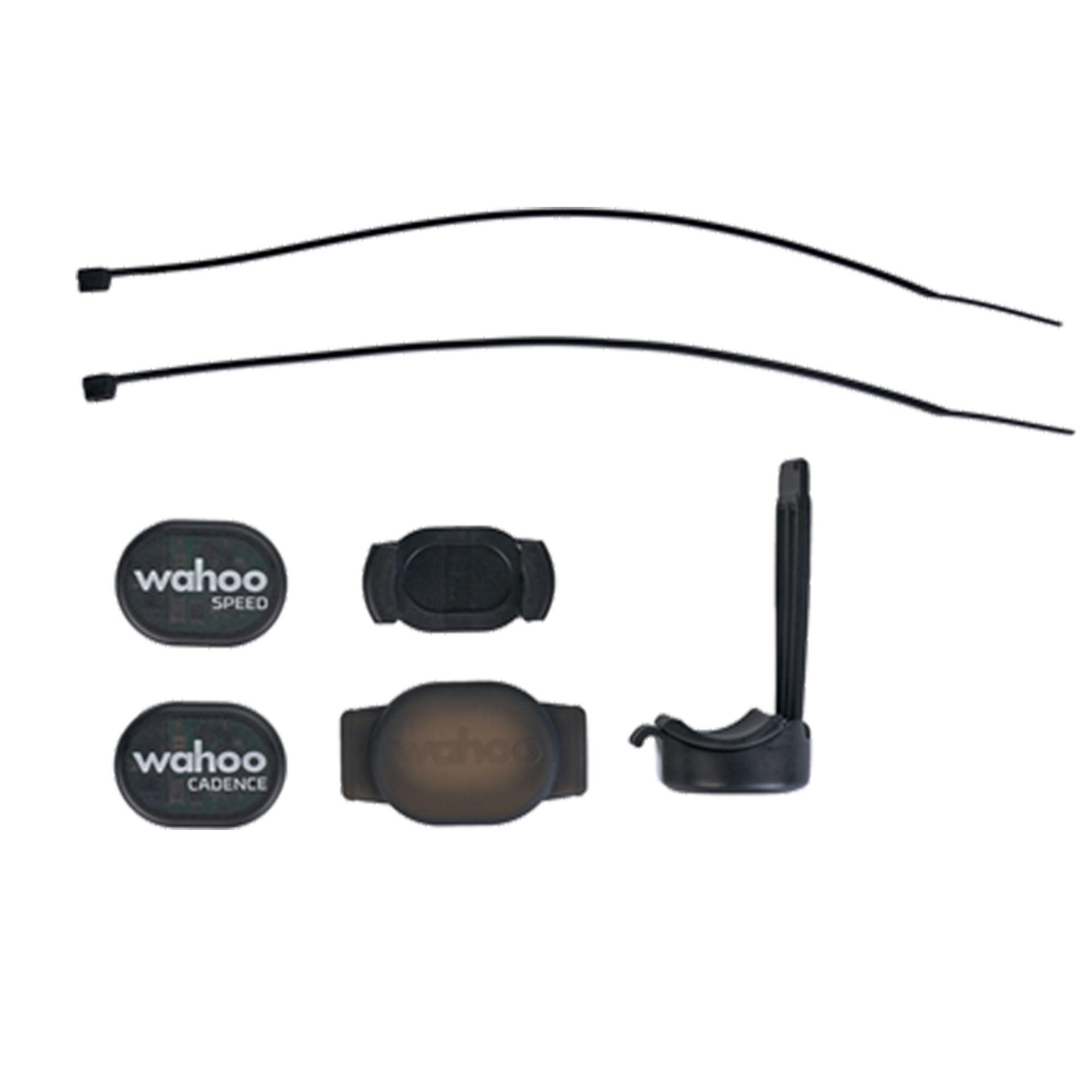 Wahoo Fitness RPM Speed And Cadence Sensor Bundle  - Black - Size: One Size