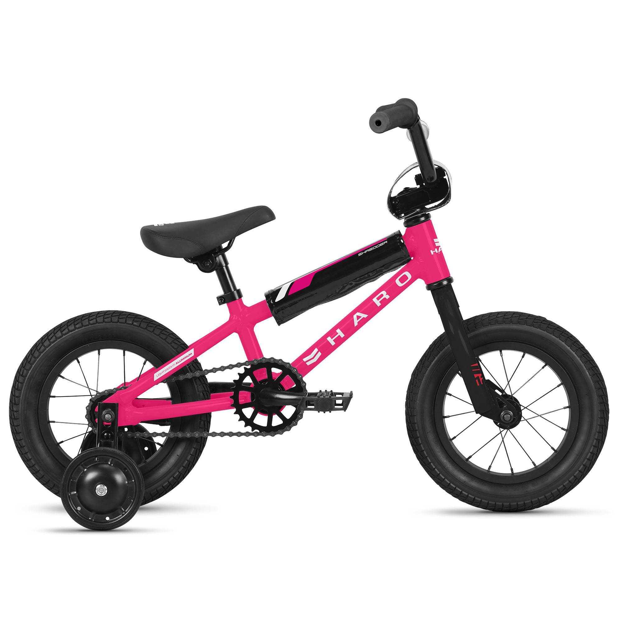 Haro Girl's Shredder 12 Sidewalk Bike '21  - Magenta - Size: 12