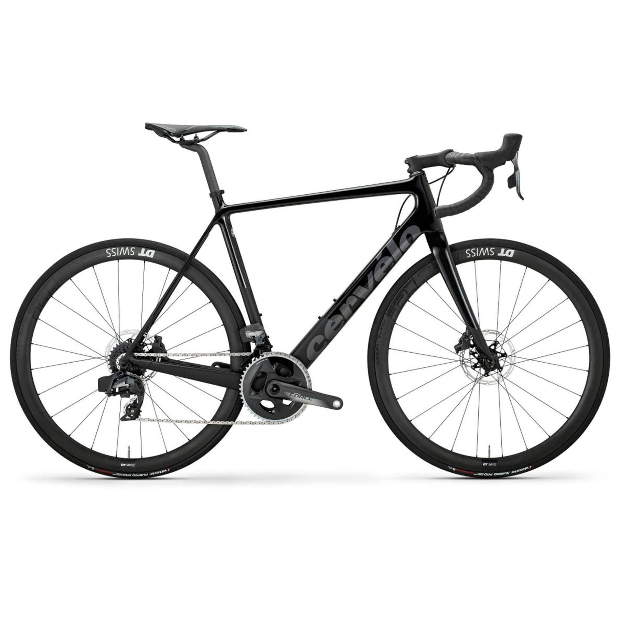 Cervelo Men's R-Series Force AXS Classic Road Bike '20  - Black/Dark Grey - Size: 54