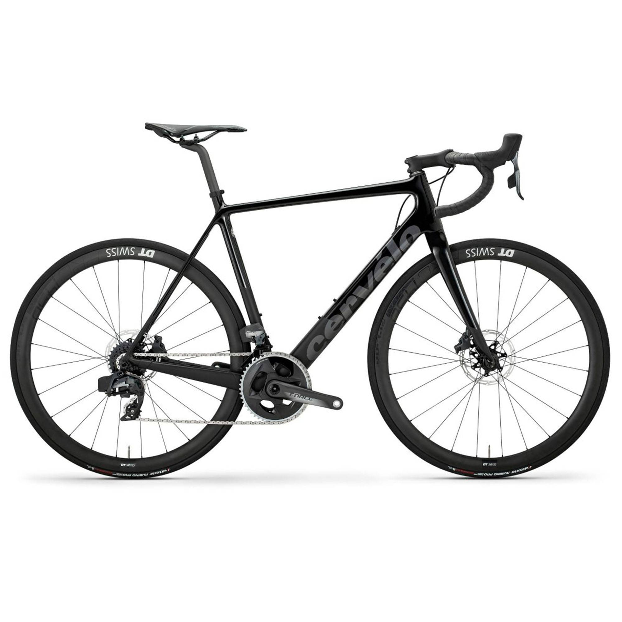 Cervelo Men's R-Series Force AXS Classic Road Bike '20  - Black/Dark Grey - Size: 56