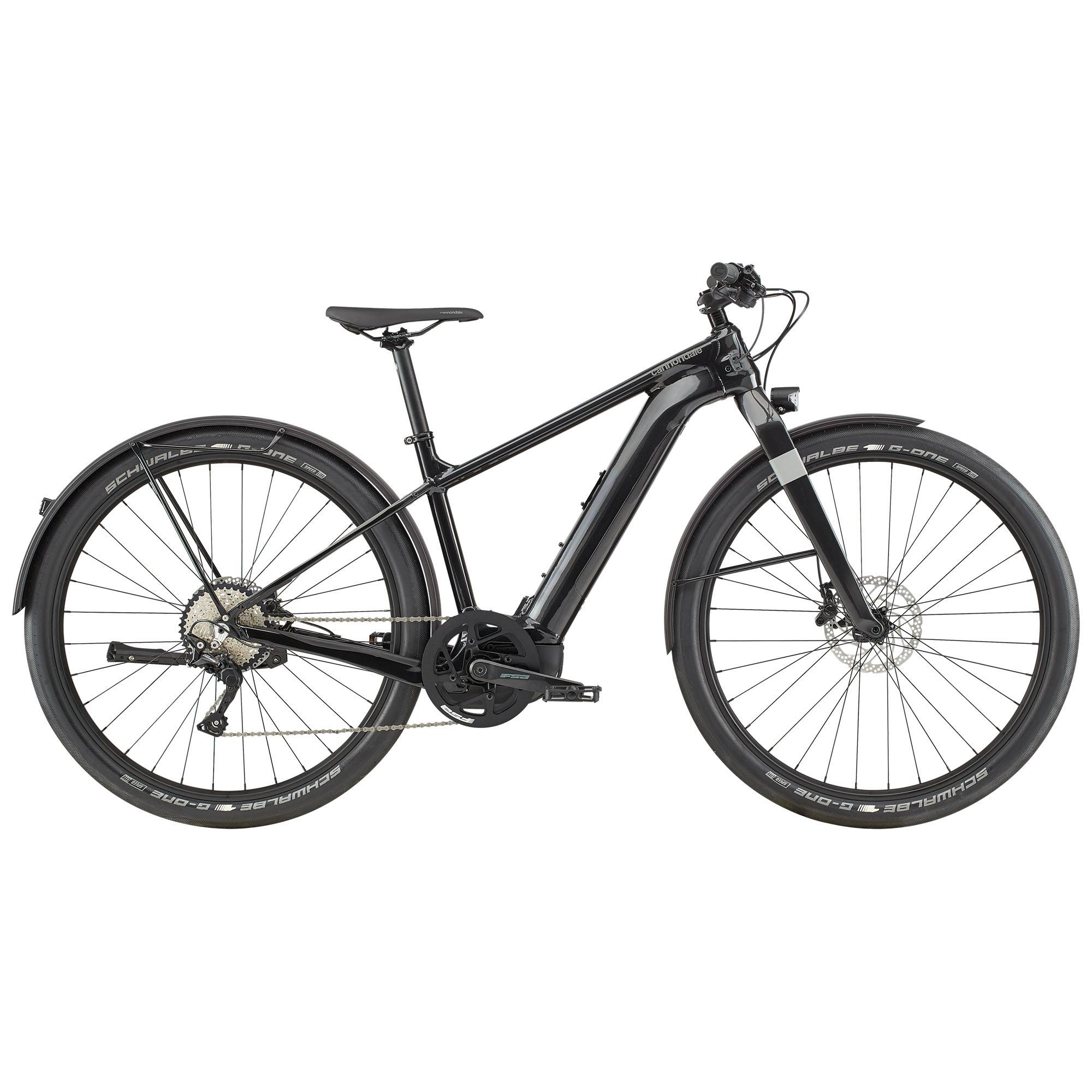 Cannondale Canvas Neo 1 Electric Bike '20  - Black - Size: Medium