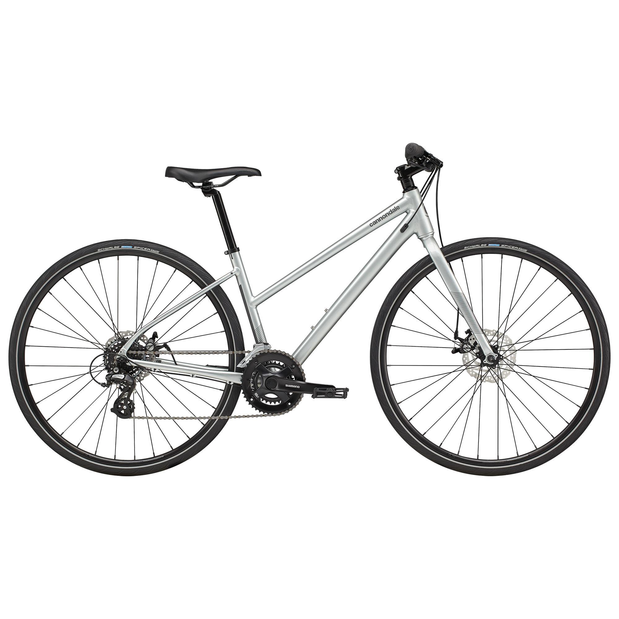 Cannondale Women's Quick 5 Remixte Urban Bike '21  - Sage Grey - Size: Small