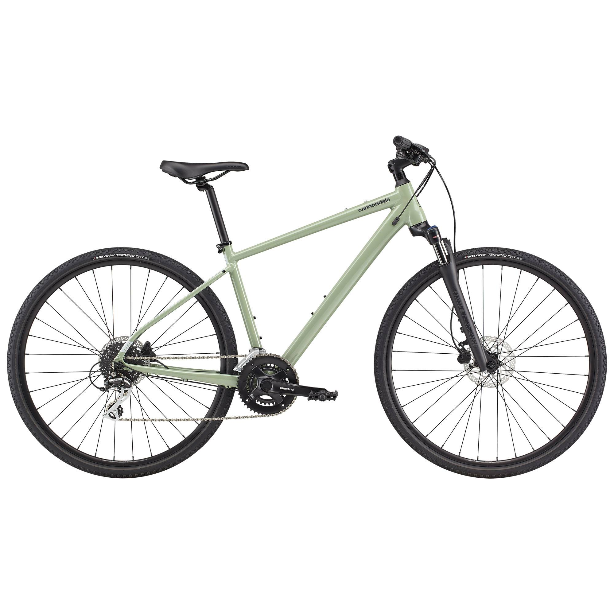 Cannondale Men's Quick CX 3 Urban Bike '21  - Agave - Size: Small