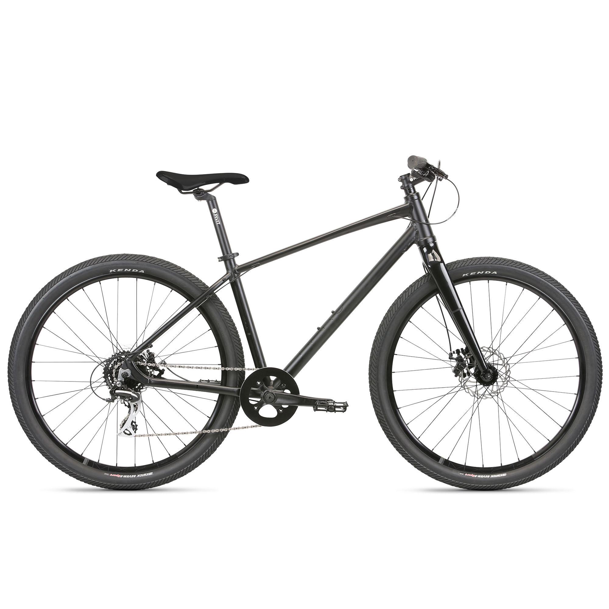 Haro Beasley 27.5 Urban Bike '21  - Matte Black - Size: Large