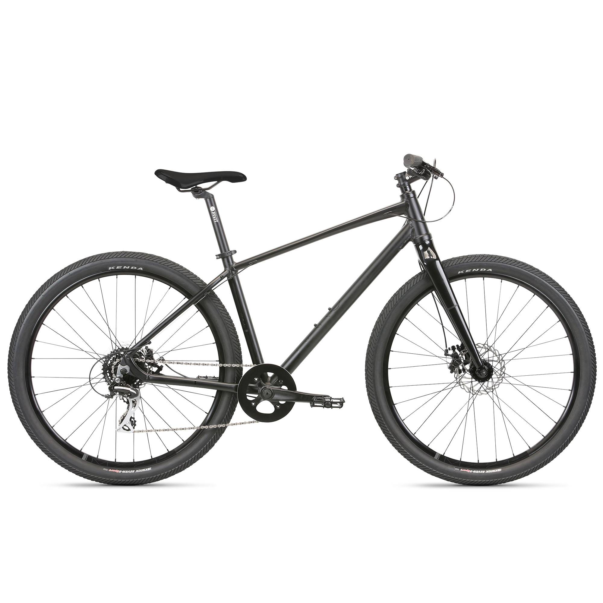 Haro Beasley 27.5 Urban Bike '21  - Matte Black - Size: Large