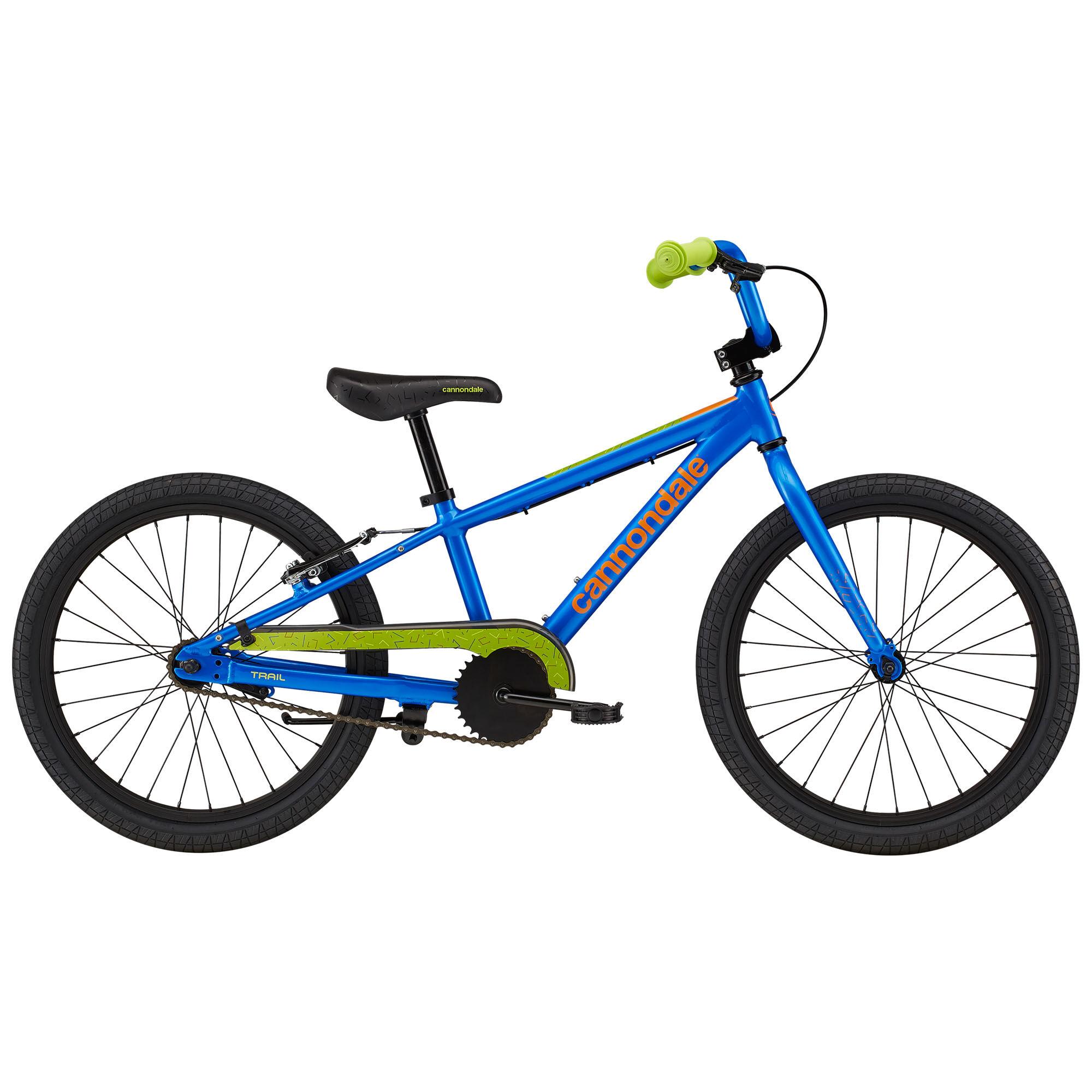 Cannondale Boy's Kids Trail Single-Speed 20 Sidewalk Bike '21  - Acid Red - Size: 20