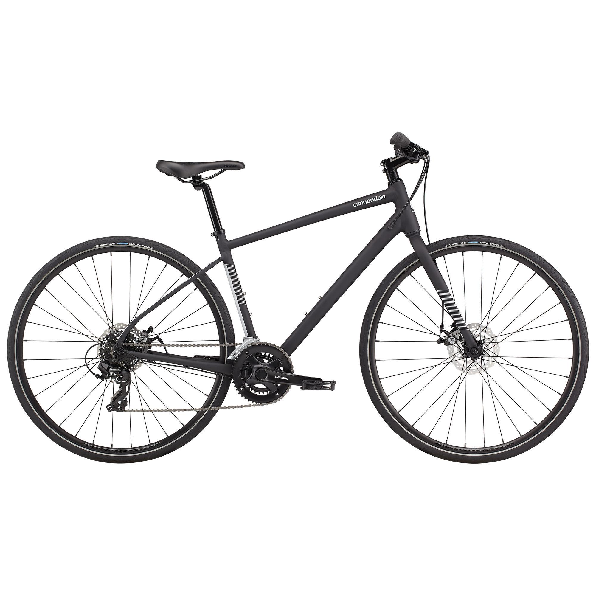 Cannondale Quick 5 Urban Bike '21  - Matte Black - Size: Small