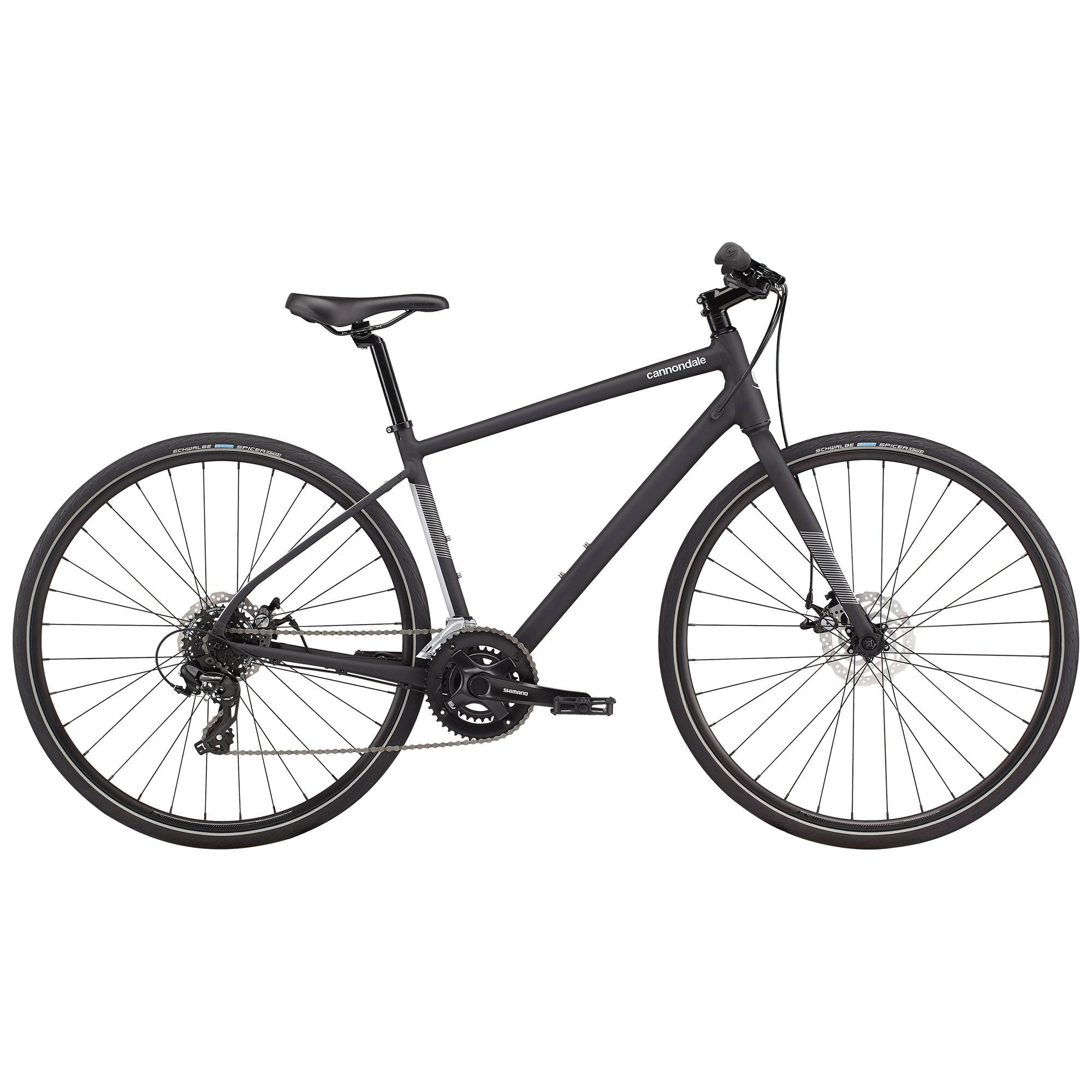 Cannondale Quick 5 Urban Bike '21  - Matte Black - Size: Medium