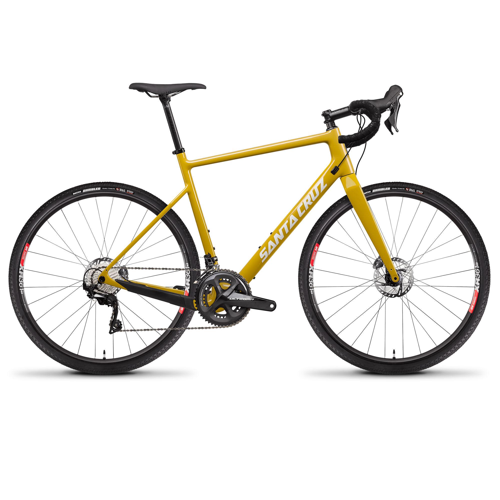 Santa Cruz Men's Stigmata 3.0 CC Ultegra Gravel Bike '20  - Mustard - Size: 54
