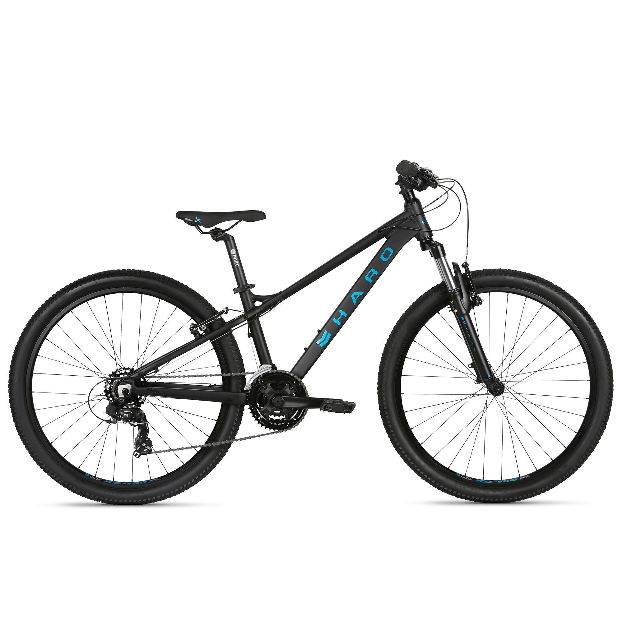 Haro Boy's Flightline 26 Youth Bike '21  - Grey Fade - Size: 26