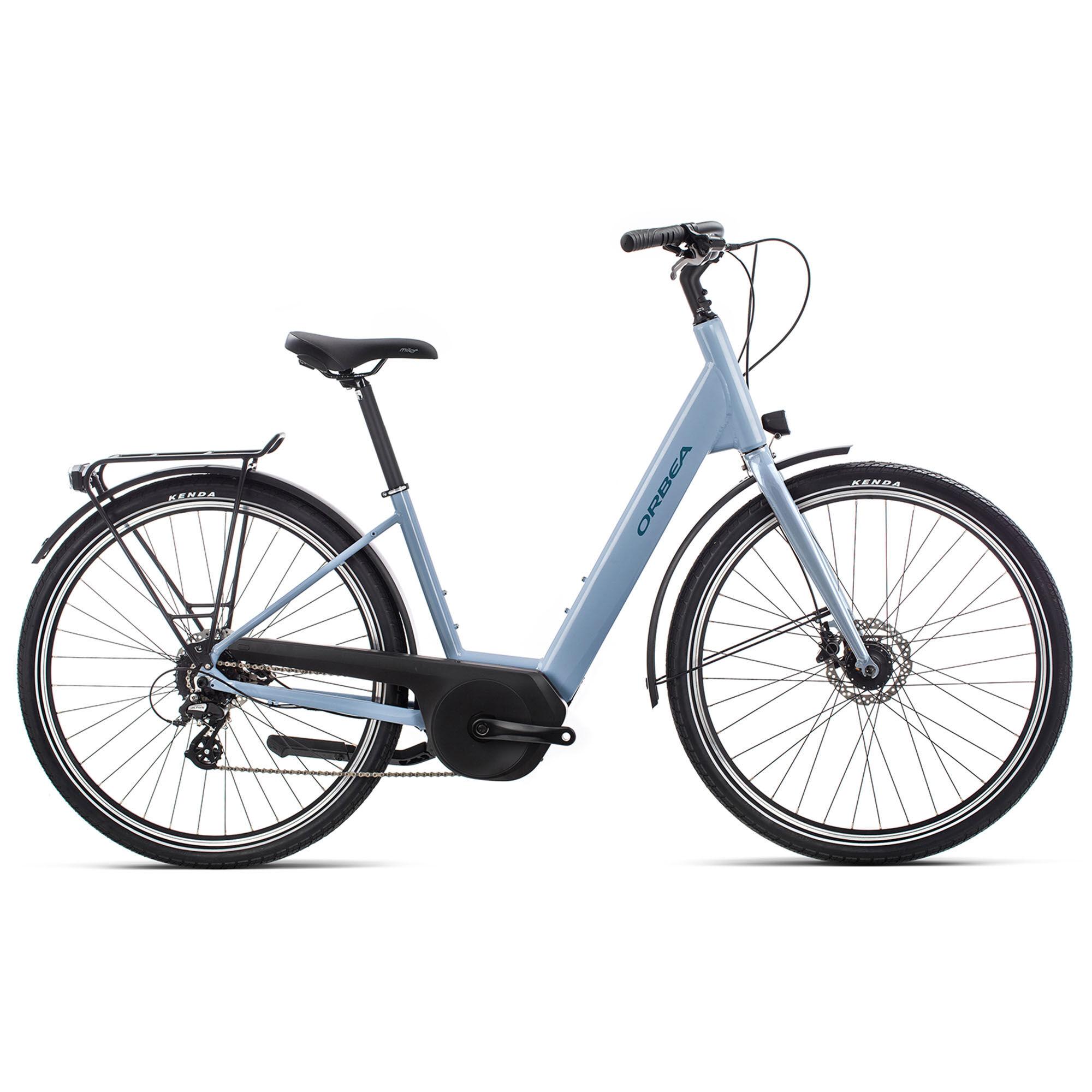 Orbea Men's Optima E50 Electric Bike '19  - Blue - Size: Small
